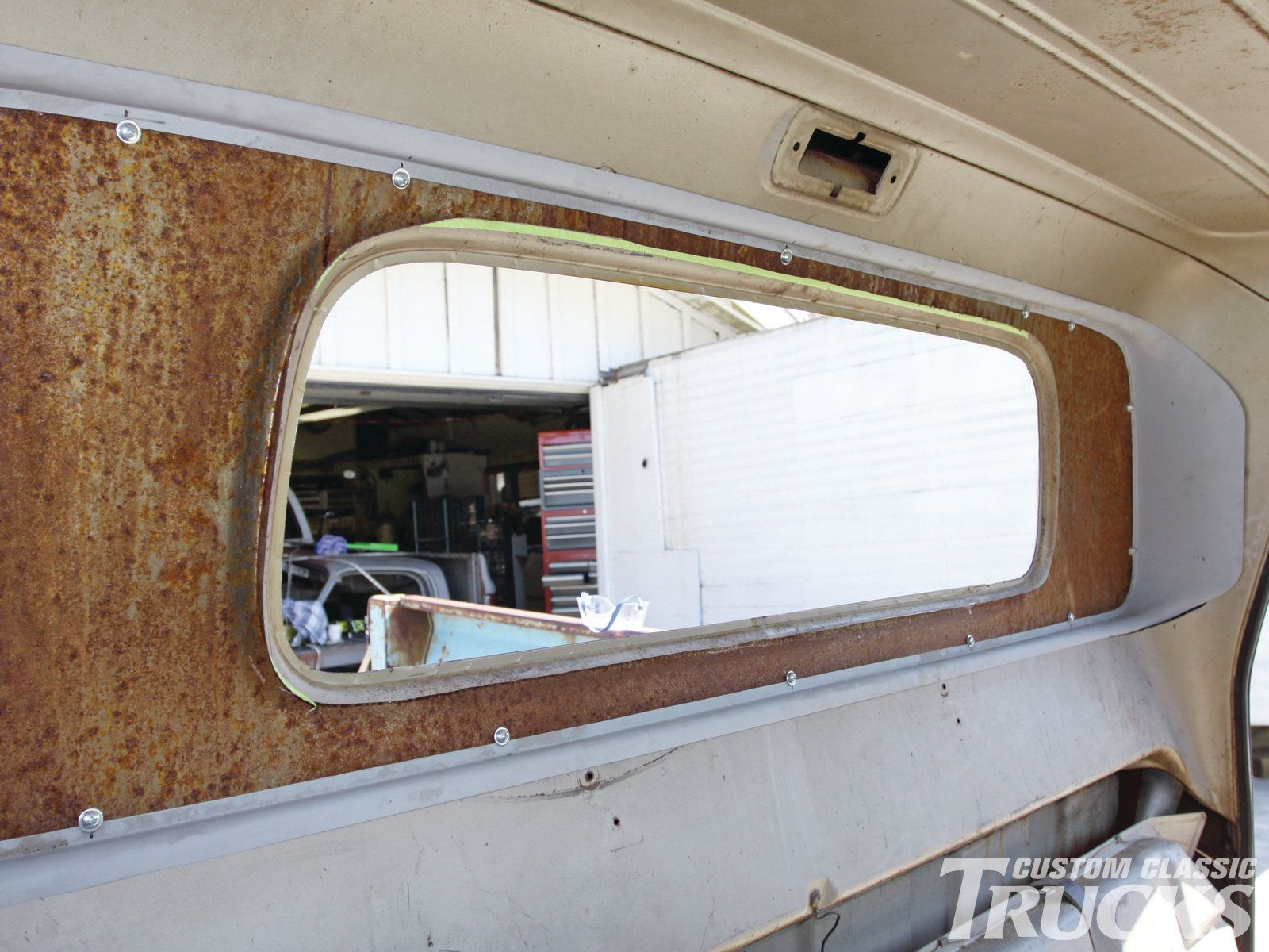1960 To 1966 Chevrolet C10 Small To Big Window Conversion Hot Classic Trucks Magazine Big Windows Classic Trucks