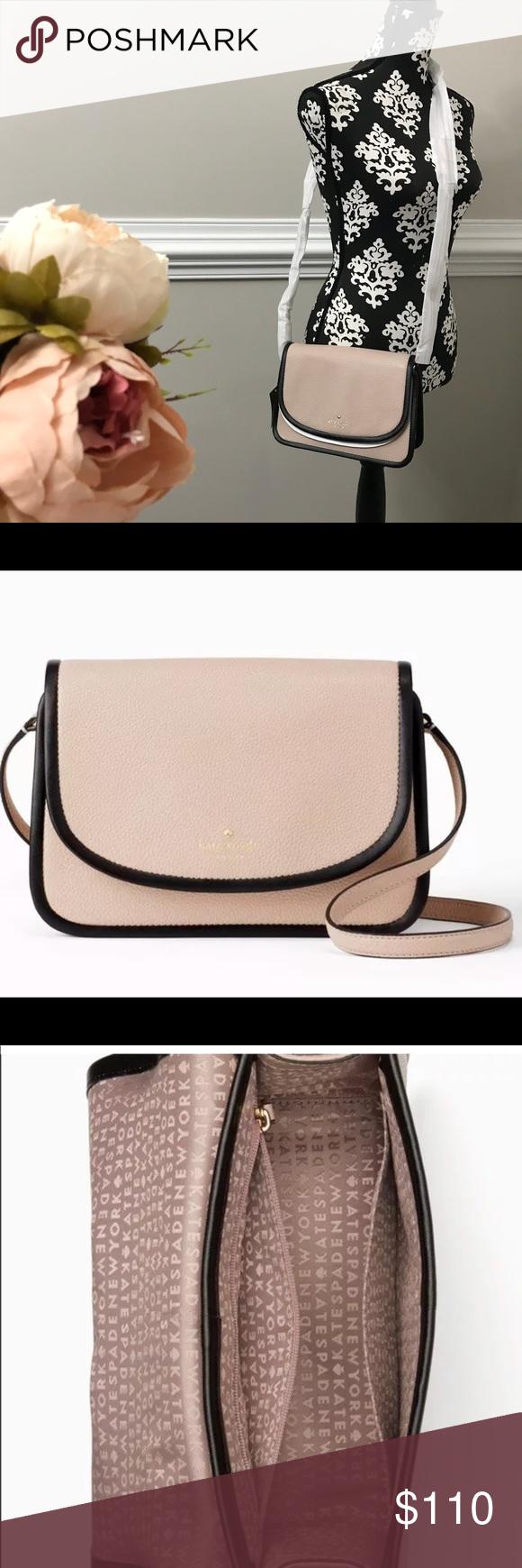 58f1256cffe51 Kate Spade Ivy Ward Place Leather Handbag Width  9.5