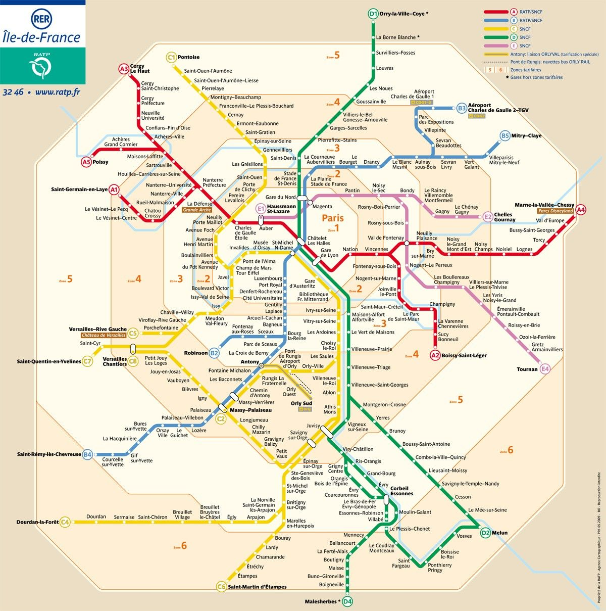Paris Metro Pass: Unlimited use of Metro & Bus in and around Paris ...