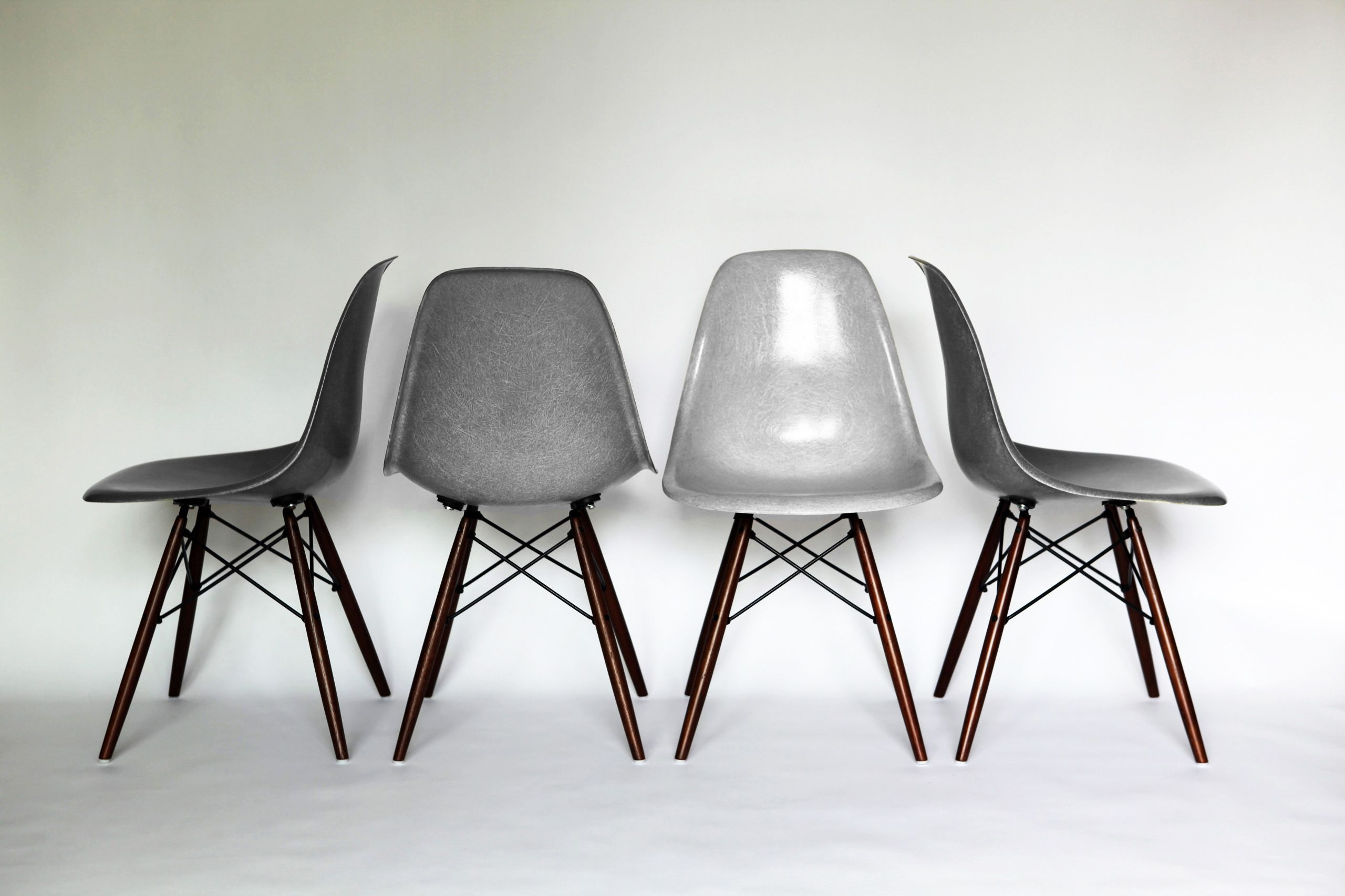 eames herman miller elephant hide grey chairs eames. Black Bedroom Furniture Sets. Home Design Ideas