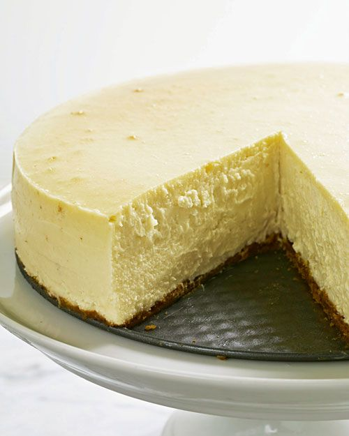 New York Style Cheesecake Recipe Desserts Cheesecake Recipes Food