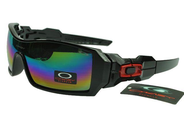 oakley oil rig sunglasses black frame chromatic lens sunglasses rh pinterest com
