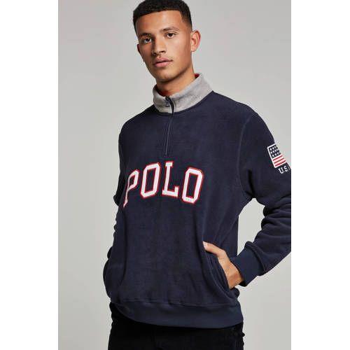 Vintage Ralph Lauren Polo shirt met lange mouwen Polo's
