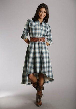 2be4fbf8b6 Super Cute Western Dress