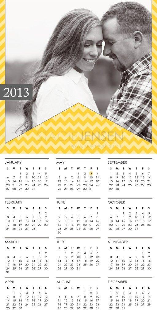 2013 Calendar Template for Photographers