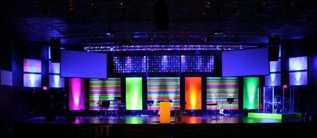 church ideas - Church Stage Design Ideas For Cheap