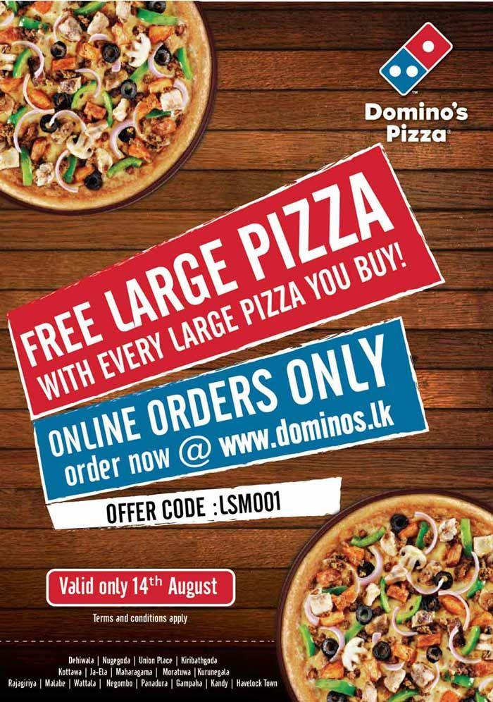 Buy One Get One Pizza Promo Now Online! | e-Mail Advertising ...