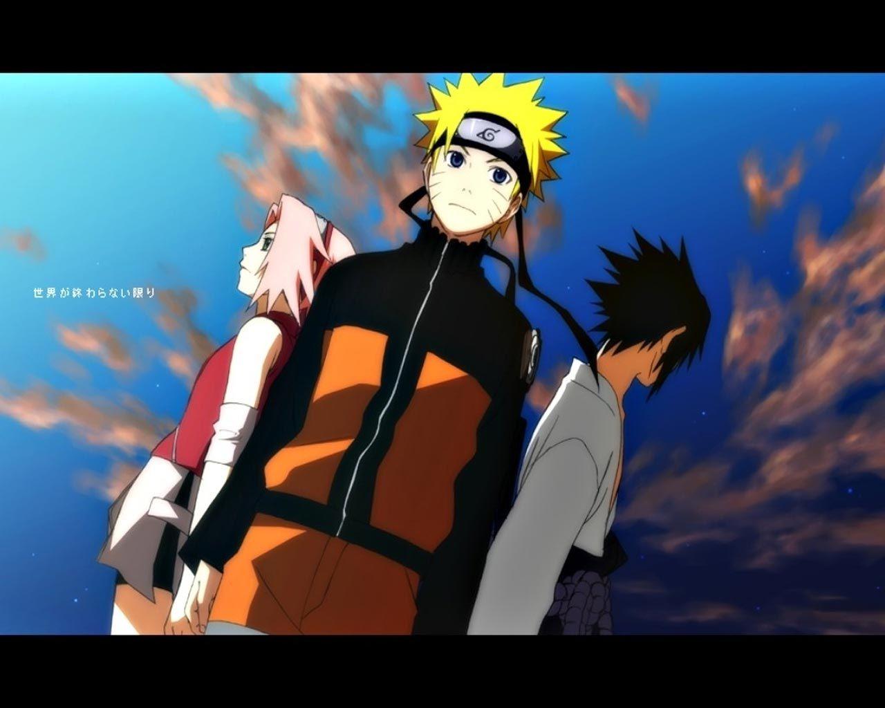 Kakashi sakura sasuke naruto wallpaper forwallpaper com html code - Sakura Naruto And Sasuke Naruto Shippuden
