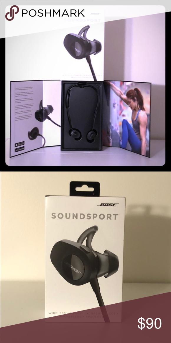 Bose Soundsport Wireless Headphones New W Box Up For Sale Bose Soundsport Wireless Headphones New Mint Apple Products Wireless Headphones Things To Sell