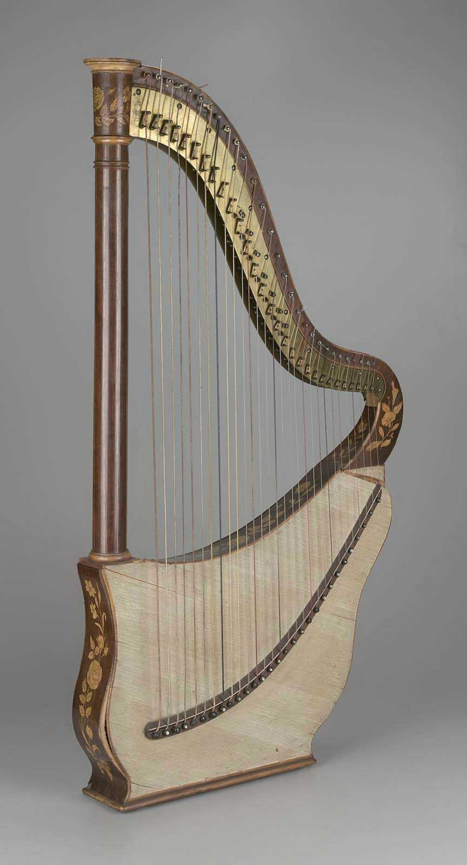 dital harp about 1830 j. pfeiffer, active 1769–1839 paris, france