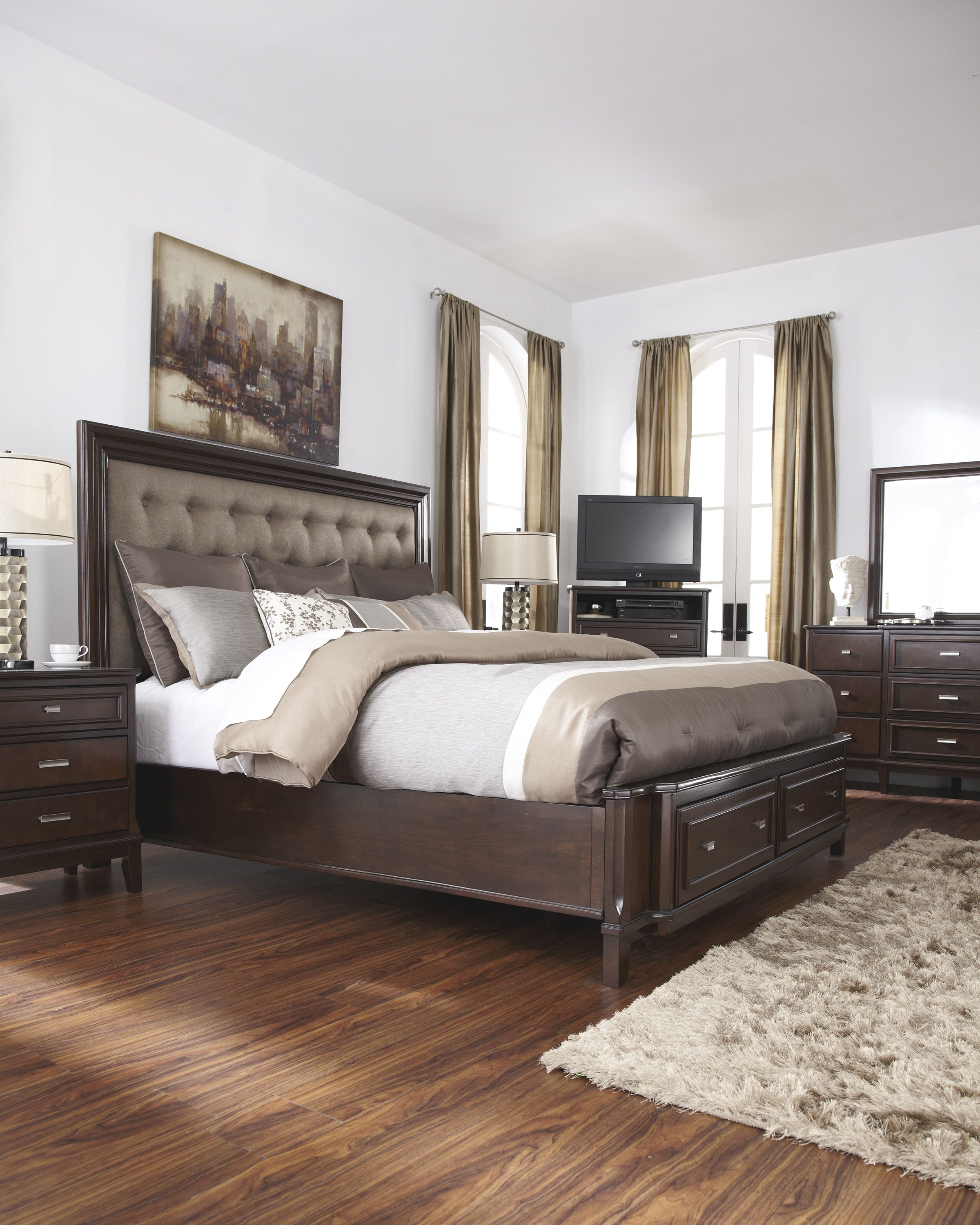 Love Everything About The The Larimer Bed The Beautiful Headboard The Sophisticated Look And