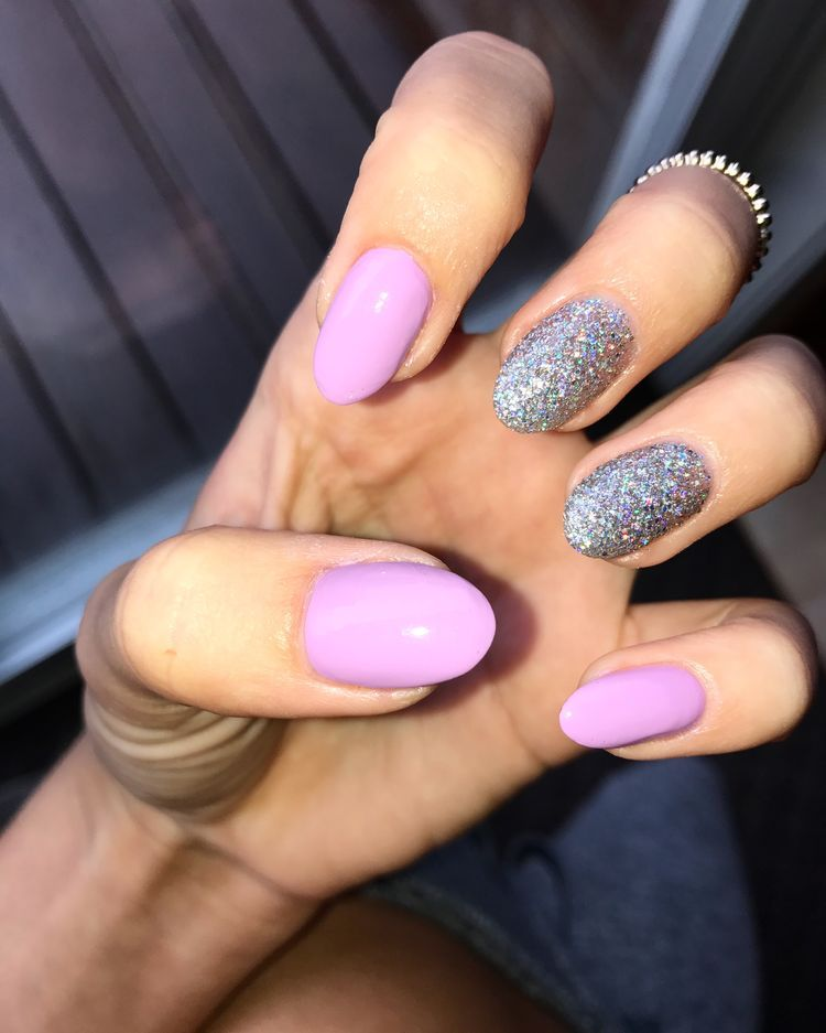 There are all types of nail art designs, nail colors ...