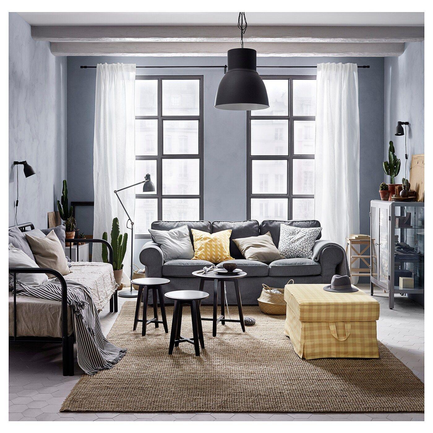 EKTORP Sofa, Nordvalla dark gray. Official Website IKEA