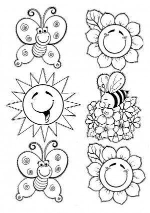 Mevsimler Mevsimlerboyama Boyamasayfaları 3sınıf Pinterest