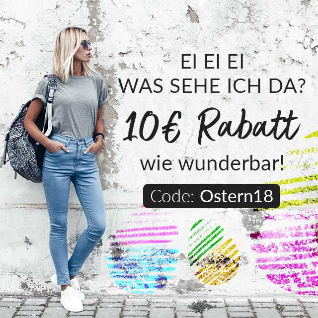 Am Osterwochenende 10€ sparen mit dem Code: Ostern18 ⎟ubup ...