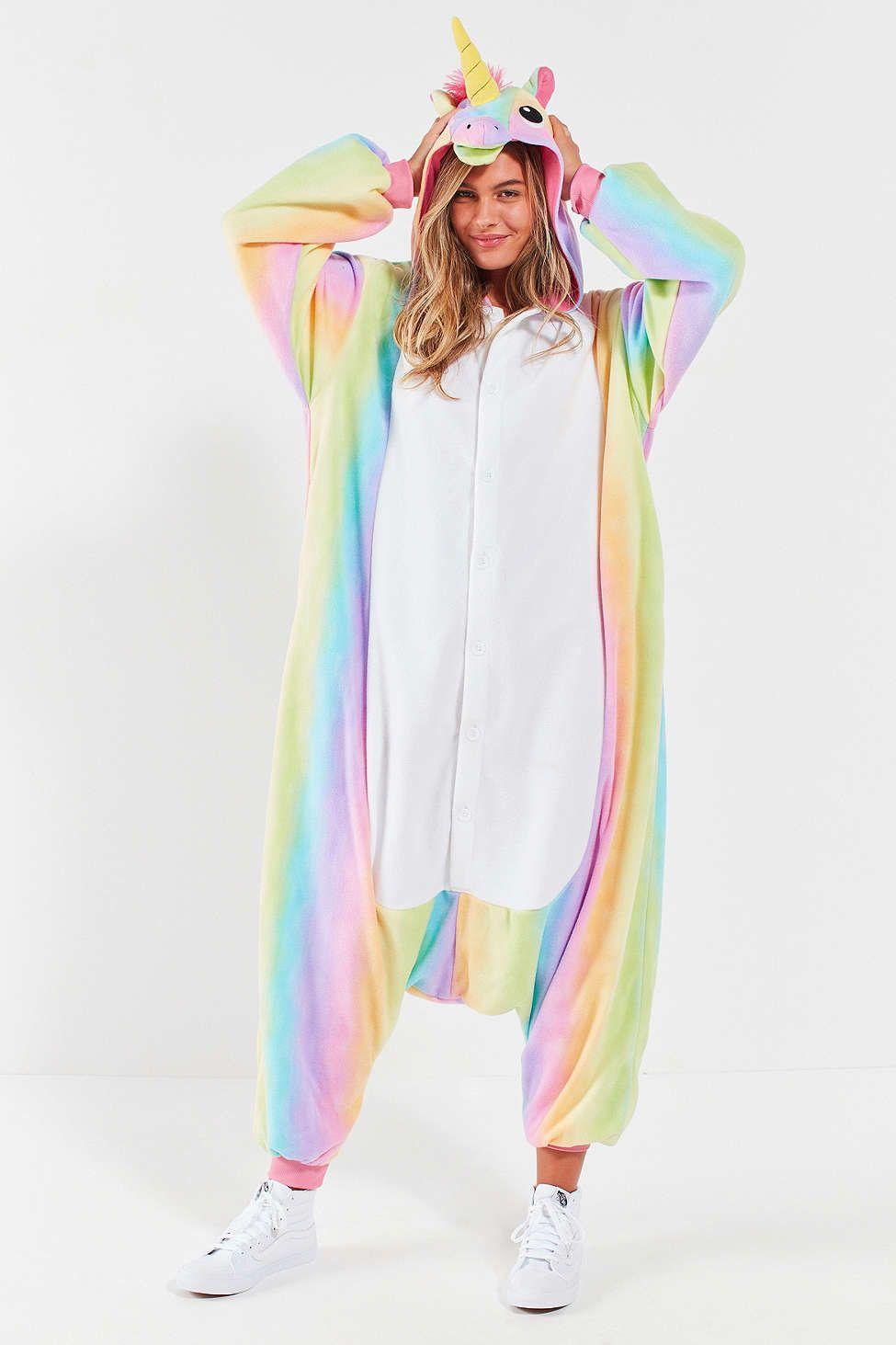 5b1e9a1764 Rainbow Unicorn Costume  unicorn Pijama Unicornio