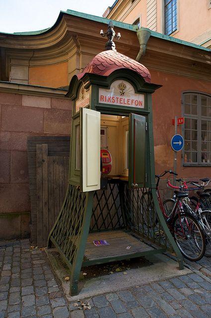 Phone Booth - Stockholm, Sweden