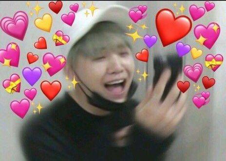 On Bts Memes Cute Love Memes Bts Emoji