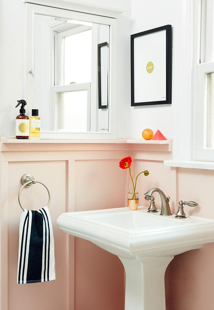 Made you blush (bathroom).Interior Design by Consort. Photo ...