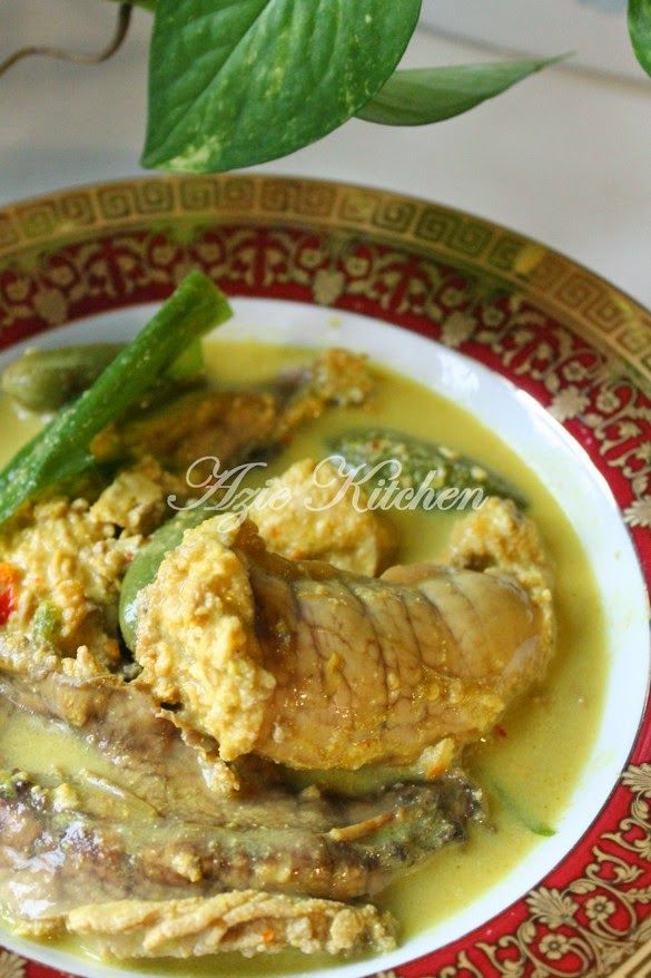 Azie Kitchen Masak Lemak Cili Api Telur Ikan Resep Masakan Makanan Dan Minuman Resep Ikan