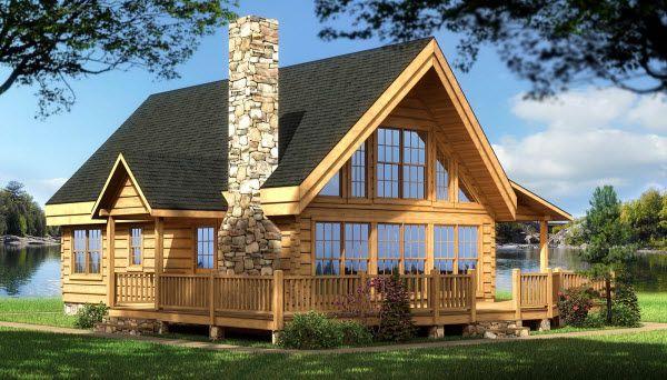 Model log homes pennsylvania