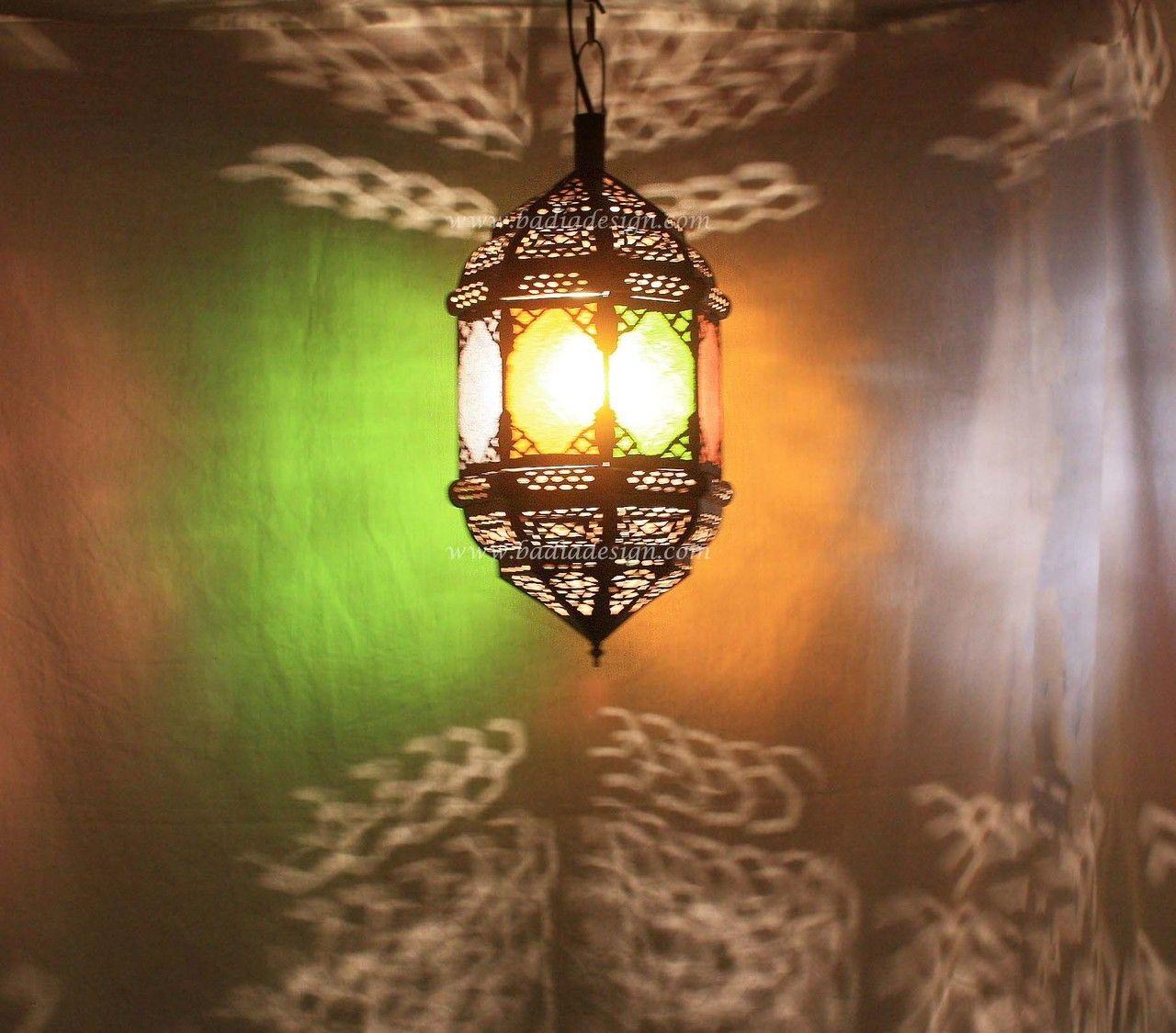 Amazing Badia Design Inc Store   Hanging Lantern With Multi Color Glass   LIG114,  $172.00 ( Design Ideas