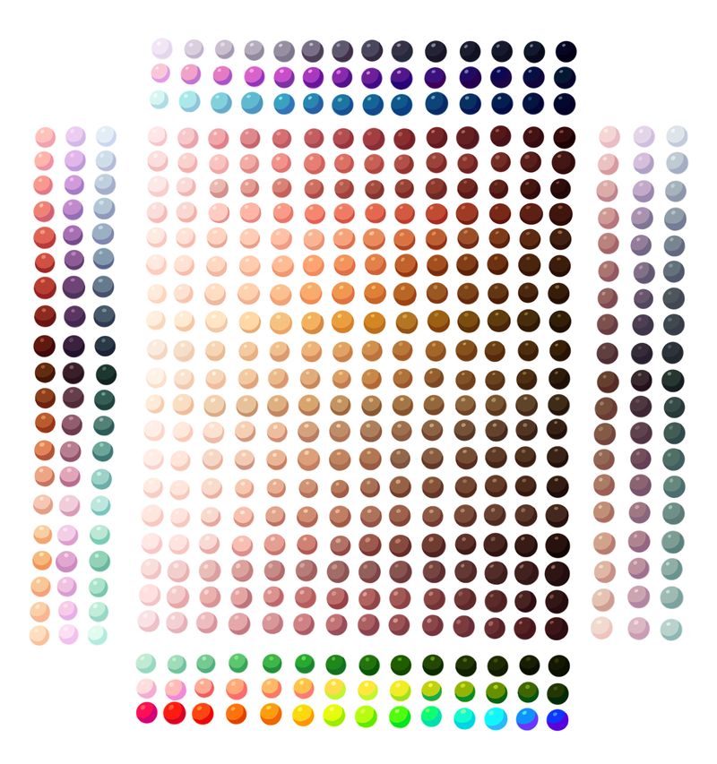Skin Colour + Others Palette by on