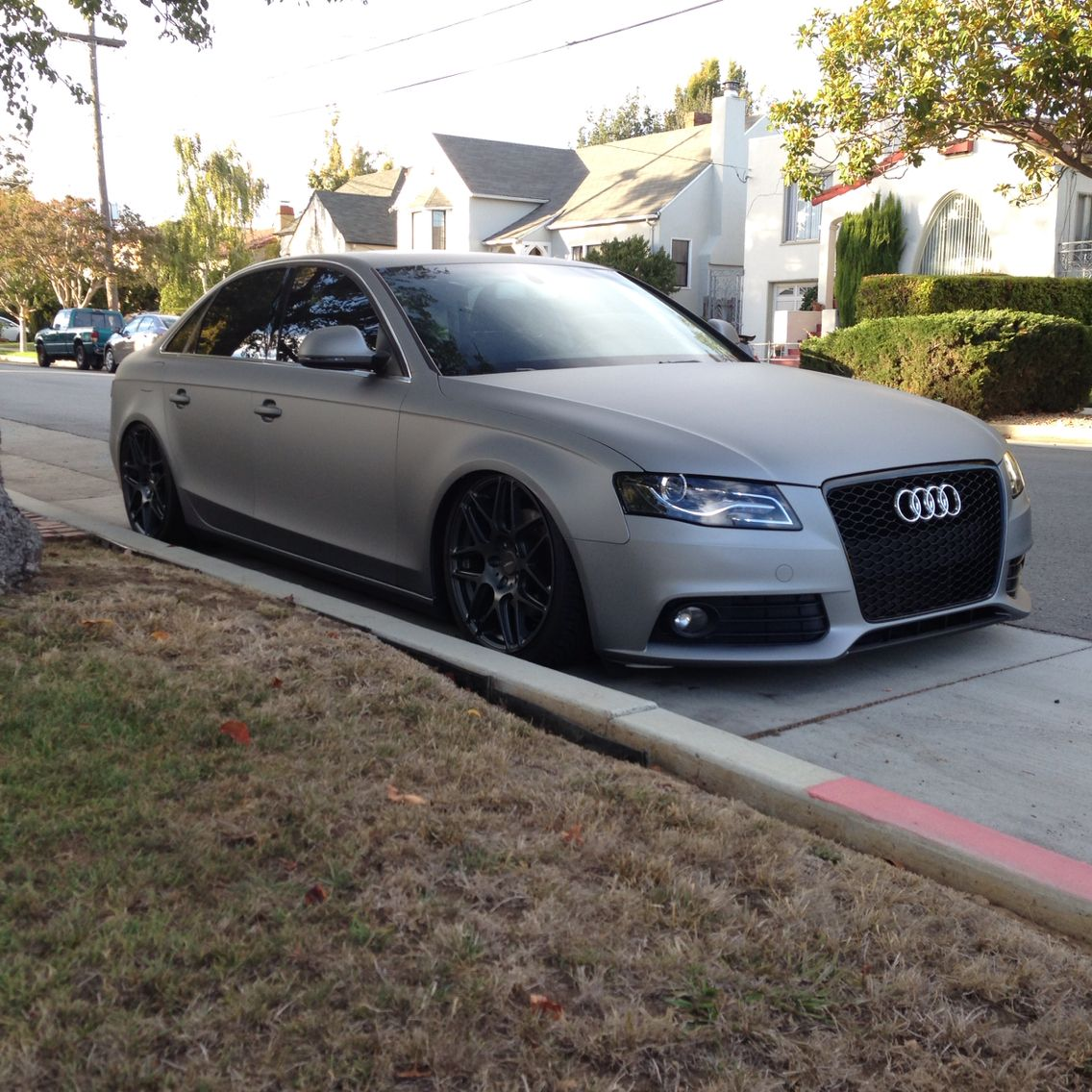 Too many white audis with black rims