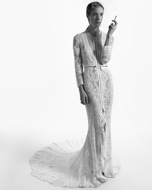Vanessa Traina in Custom Givenchy. I love how mean she looks ...