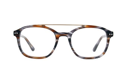 9d2ee52cca Brown Bajada Aviator Glasses  4424315