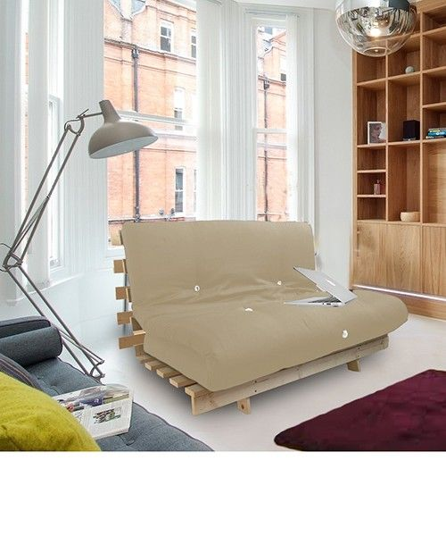 Futon Bed With Thick Mattress