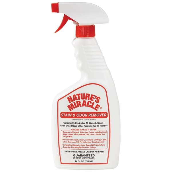 Nature S Miracle Stain Amp Odor Remover 24 Oz Spay The