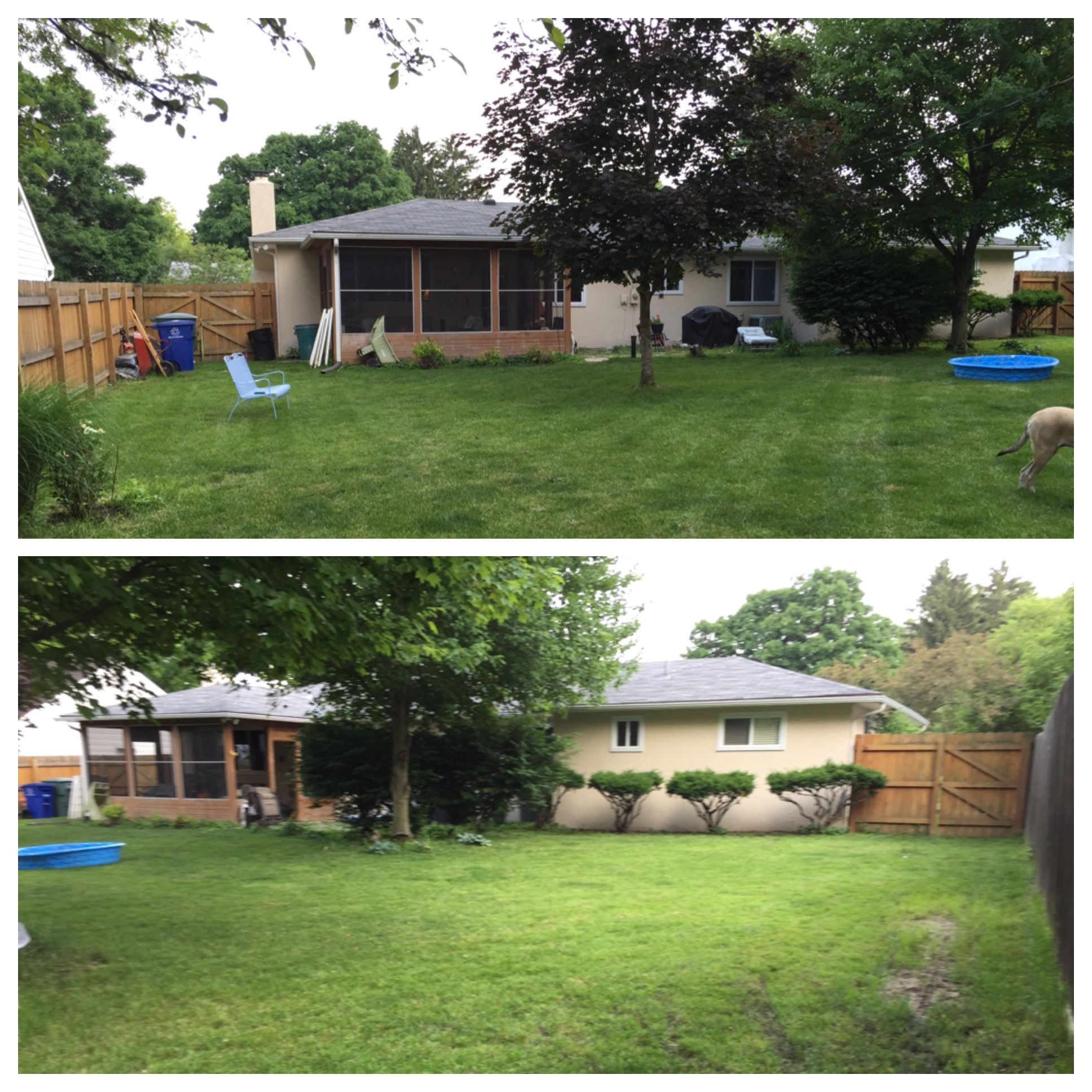 My current backyard.  #PinMyDreamBackyard