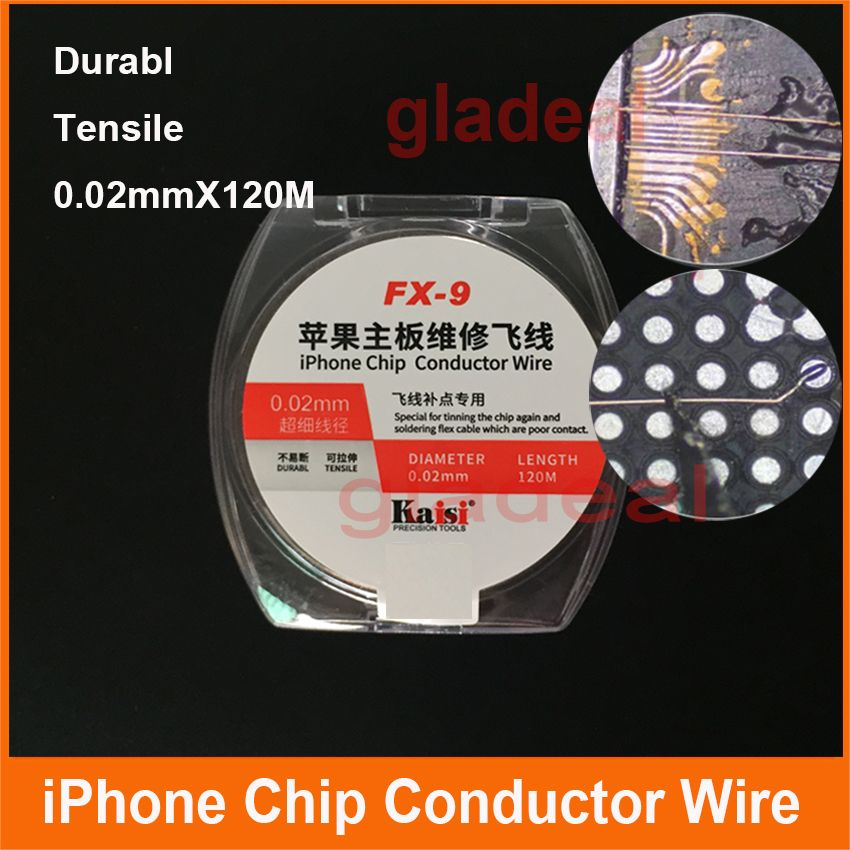 0 02mm Copper Wire Line For Maintenance Jump Line For Repair Iphone Motherboard Board Computer Pcb Welding Fingerprint Sodering Affiliate