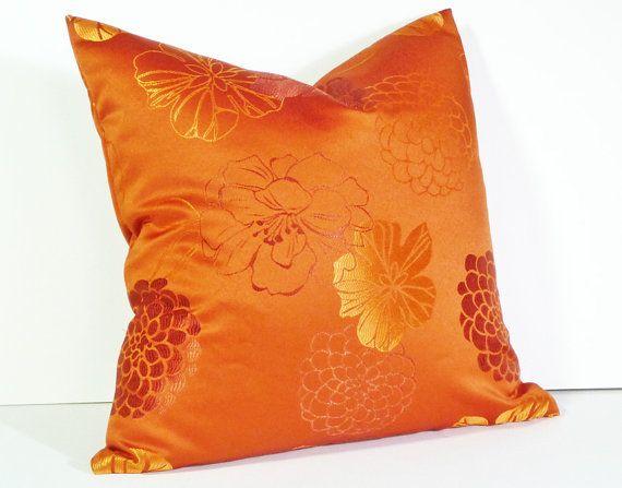 orange accent pillows. Orange Decorative Throw Pillows By PillowThrowDecor, Accent R