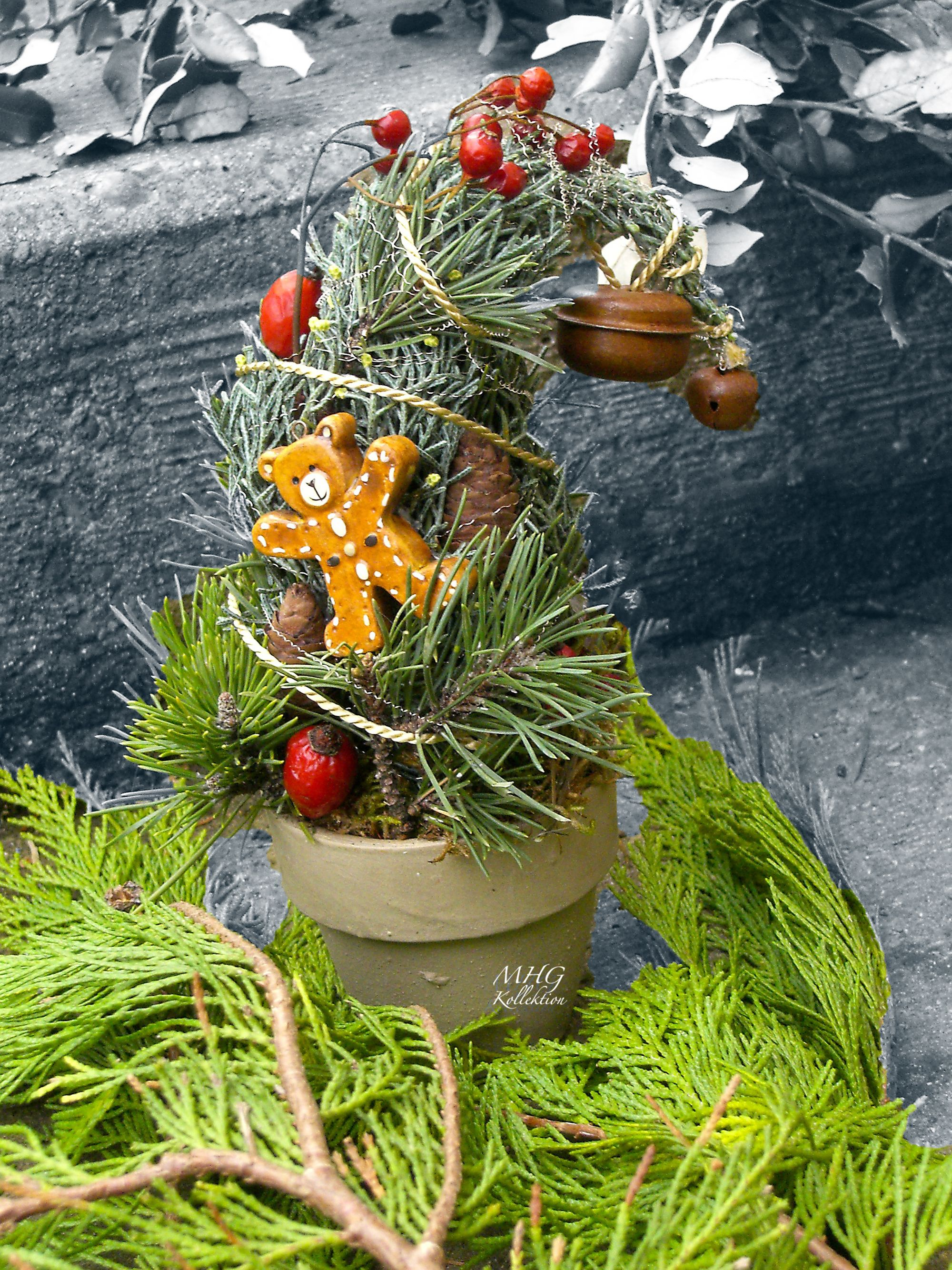 Little Tree Advent Christmas Floristik Baum Advent Tannenbaum