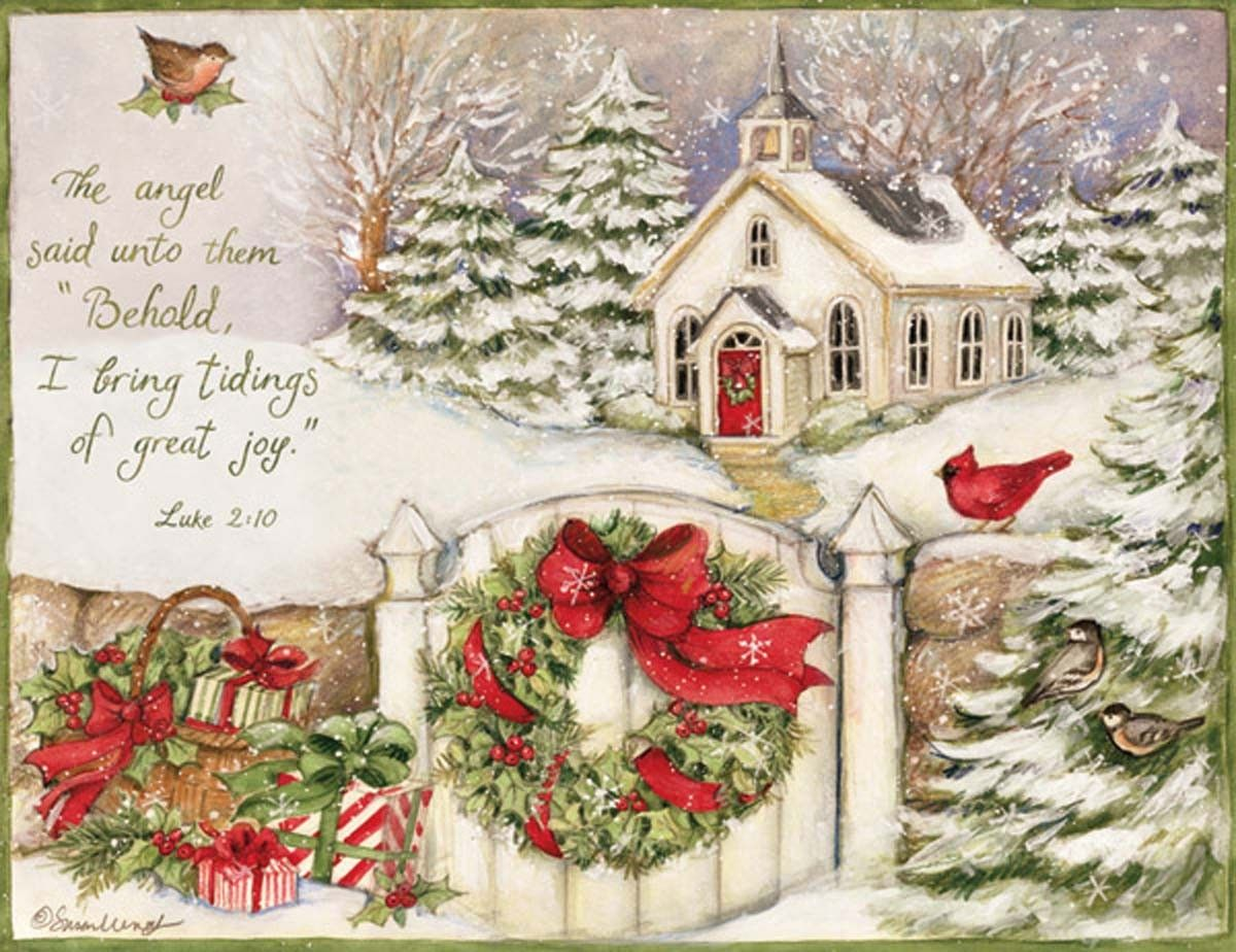 Little Church by Susan Winget | Christmas Chilly-strations ...