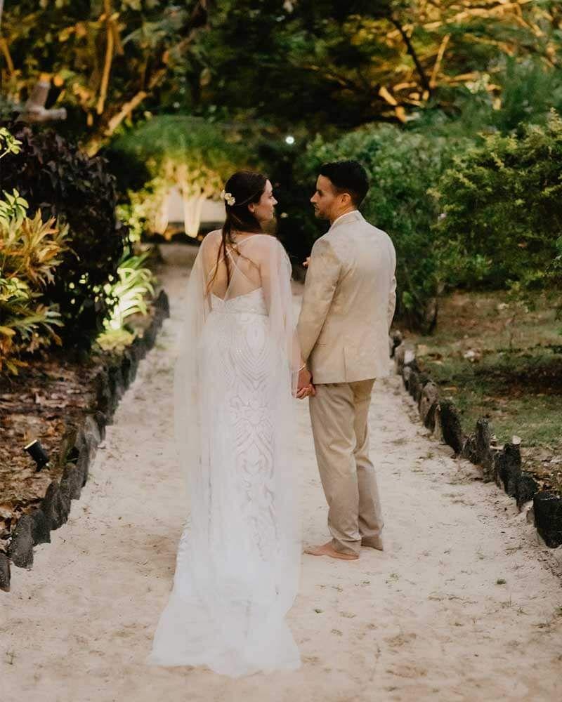 Real Wedding: Portia & Alex In 2020