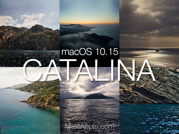 7 Fonds d'Ecran Officiels macOS Catalina à Télécharger