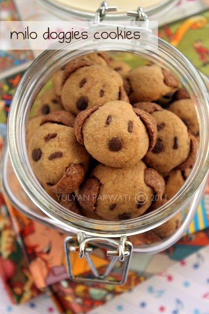 Cooking With Love Milo Doggies Cookies Sweets Recipes Best Cookie Recipes Meals Kids Love