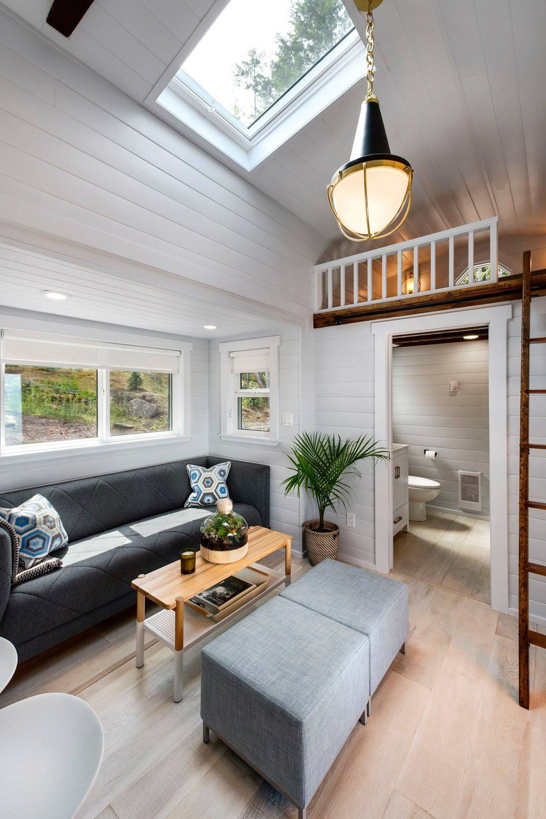 Double Slide Outs By Mint Tiny Homes Tiny House Living Room