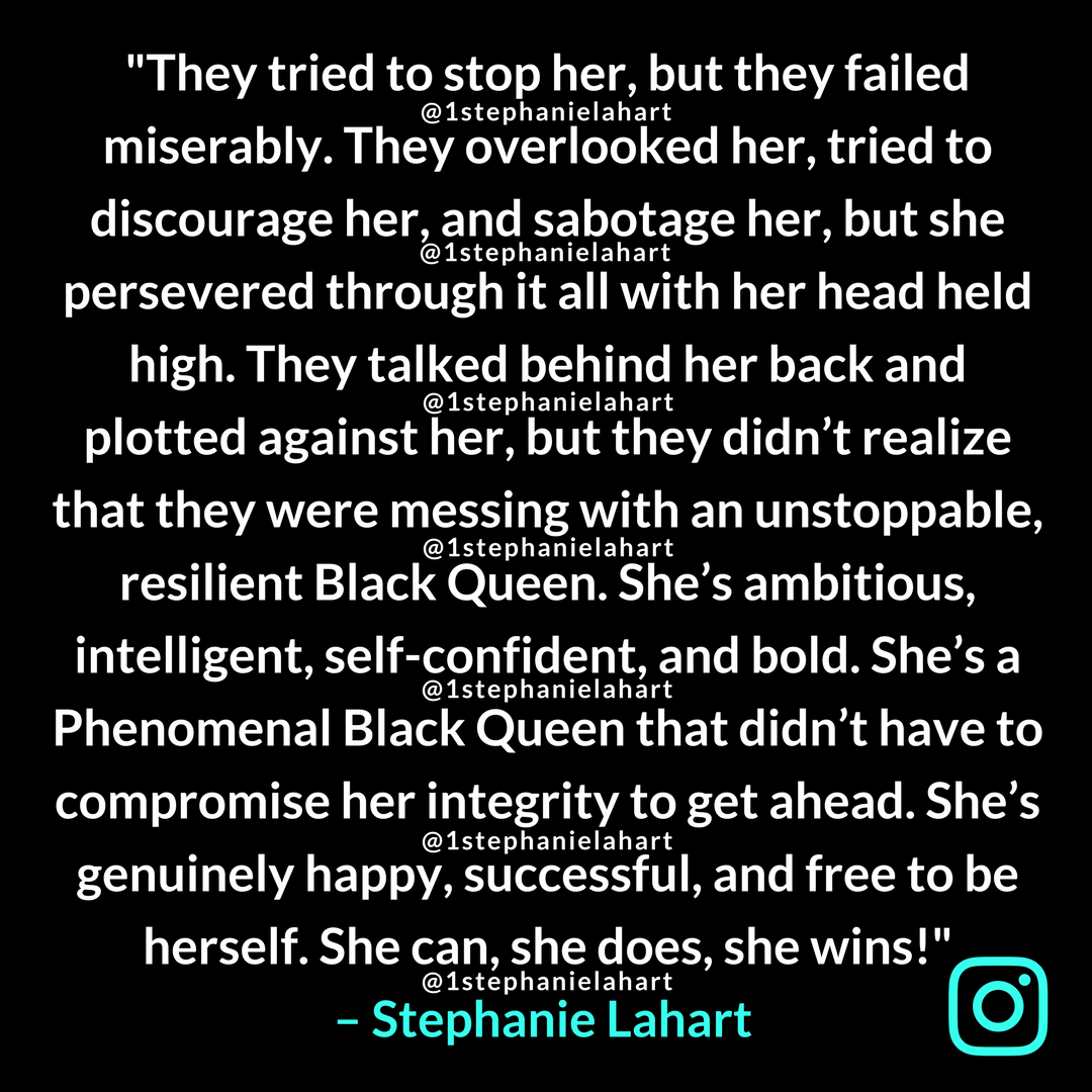 Quotes About Strong Black Woman Magnificent Phenomenal Black Woman Quotesstrong Black Queen Stephanie