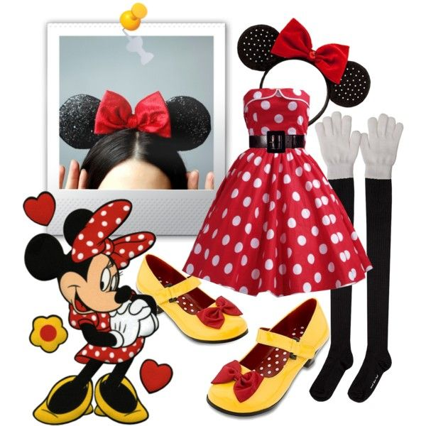 Minnie Mouse, created by hwar on Polyvore