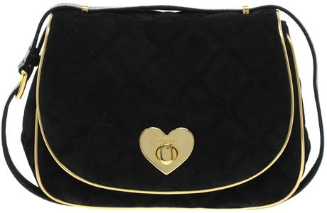 Moschino Black Cheap Chic Sweet Suedege Bag   Bags, Chic
