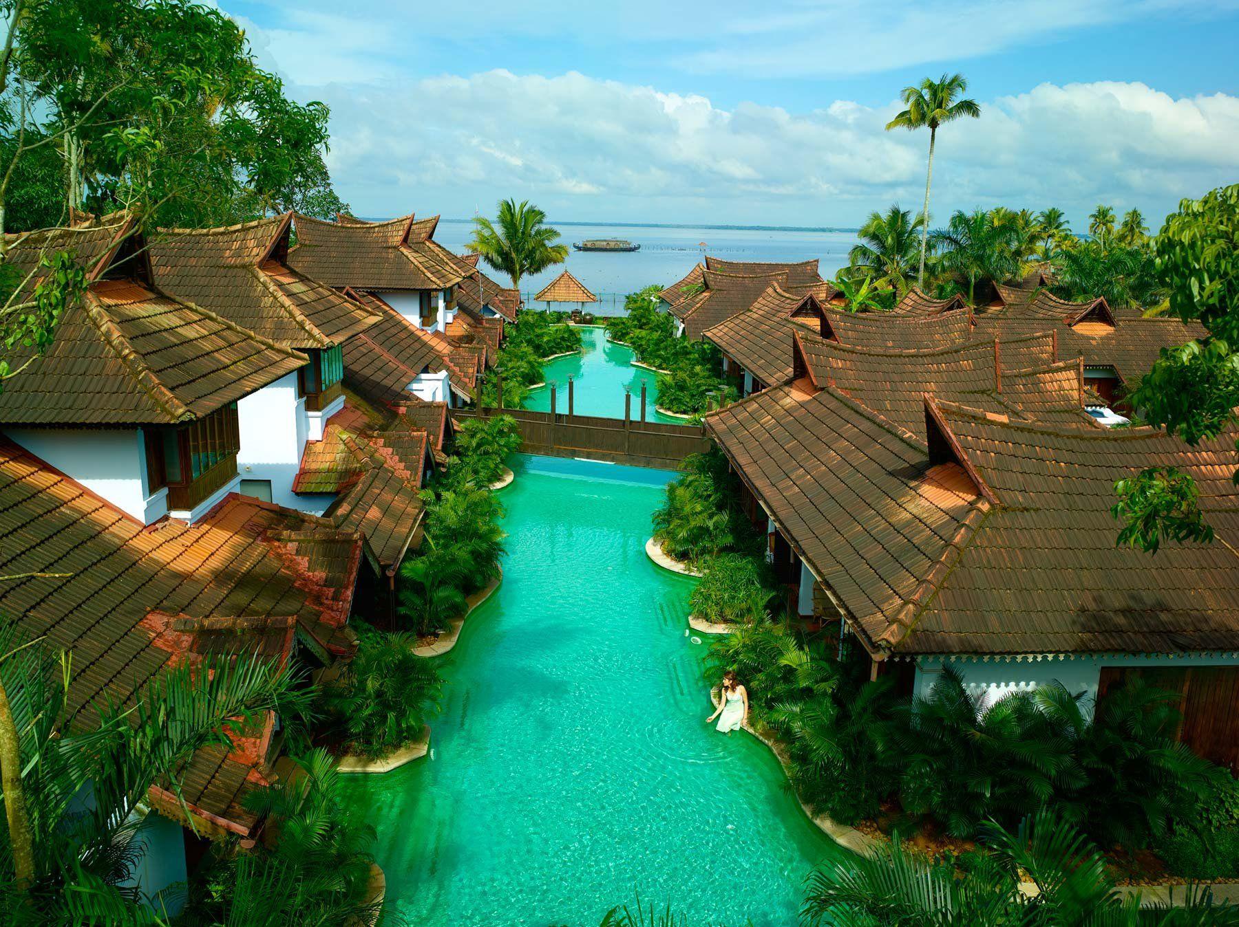 Kumarakom Lake Resort  Kerala India  Lake resort