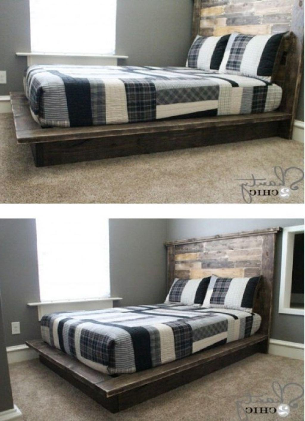Hausgemachte King Size Bett Rahmen - Homemade King-Size-Bett-Rahmen ...