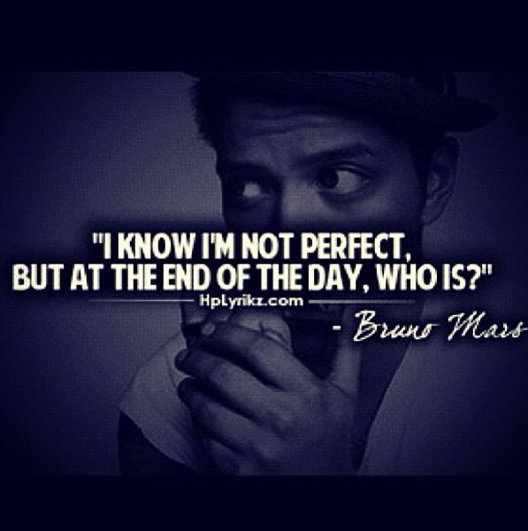 Pin by Aimee Ricalde on Quotes | Bruno mars quotes, Bruno