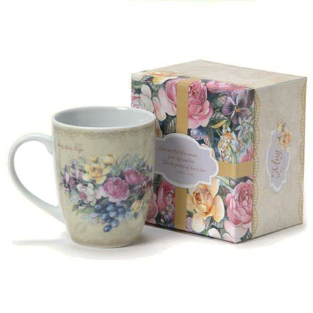 Among the Roses Ceramic Mug in Gift Box