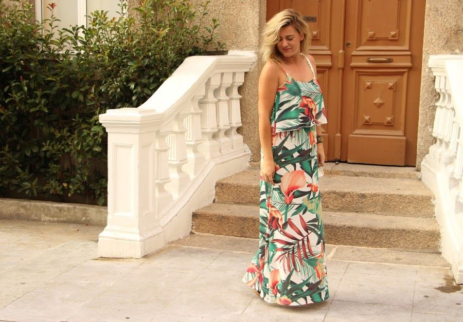 Coco and Jeans: Outfit: Tropical Print