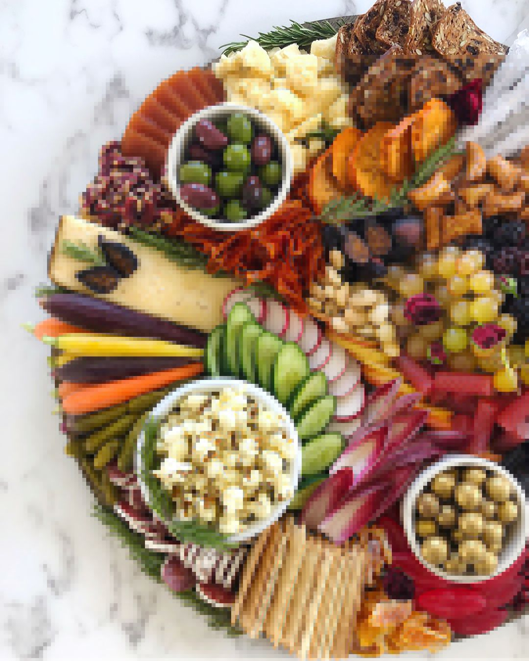Sweet and Savory Grazing Board Recipe in 2020